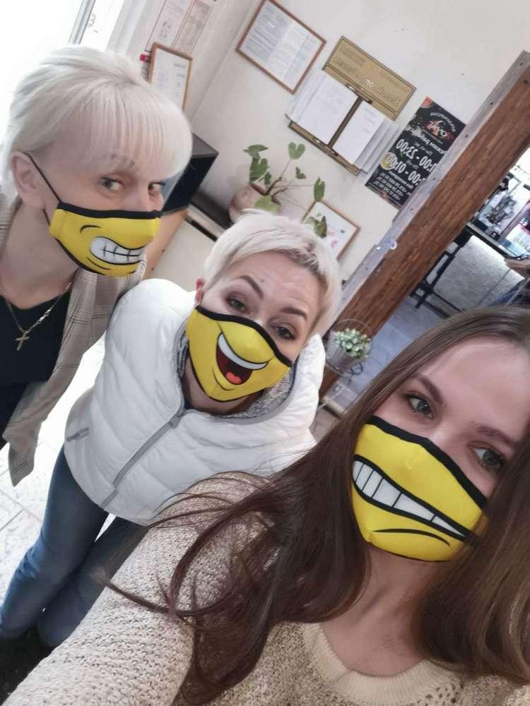 Защитные маски с полноцветной печатью