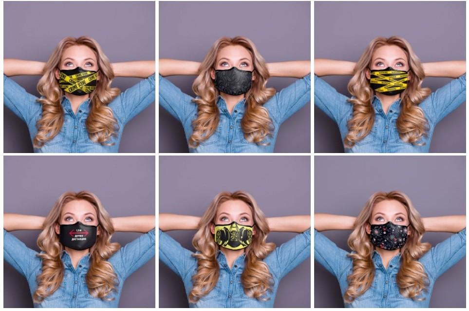 Защитные маски с логотипом под заказ