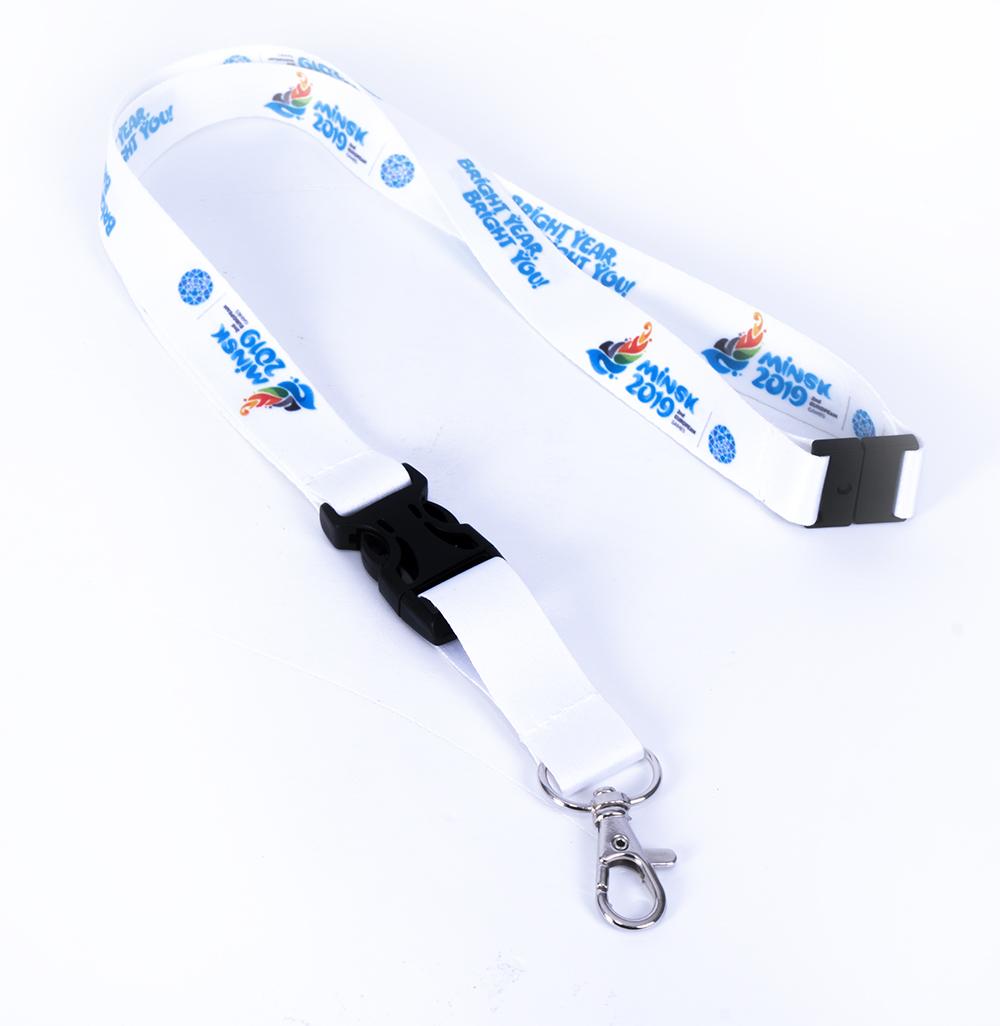 Ланъярды с логотипом, шнурки для бейджей