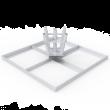 Флаговая площадка Квадрат - 5