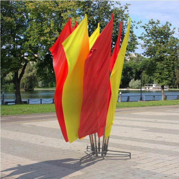 Флаговые площадки Костер и Моби