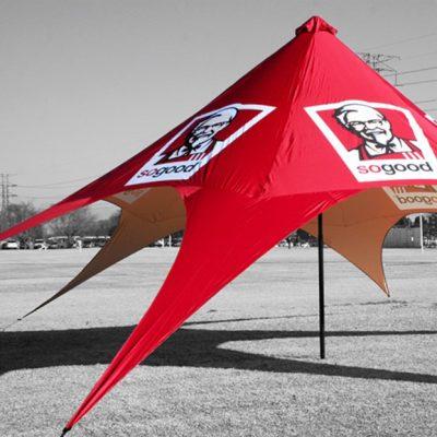 шатер звезда с 1 вершиной