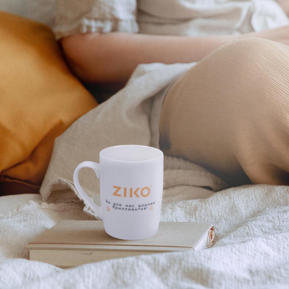 Кружки с логотипом ZIKO
