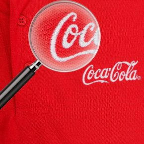 T-shirt with the Coca Cola logo