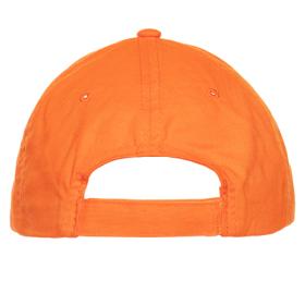 Кепка бейсболка 10U оранжевый back