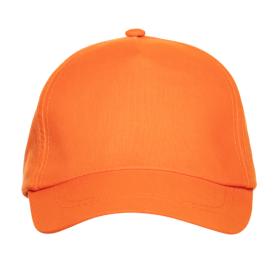 Кепка бейсболка 10U оранжевый face