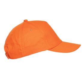Кепка бейсболка 10U оранжевый side