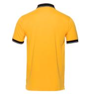 поло 4с - мужская желтая back