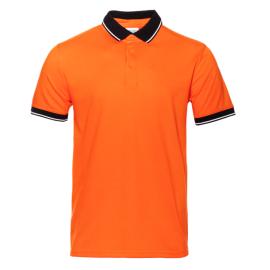поло 4с - мужская оранжевый